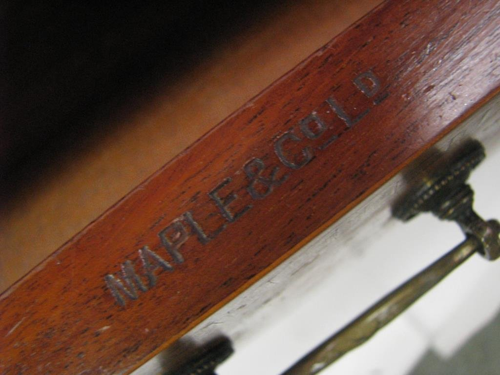 Maple & Co. Ornate Writing Desk - 10