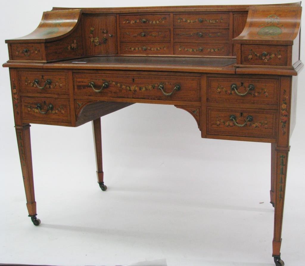Maple & Co. Ornate Writing Desk