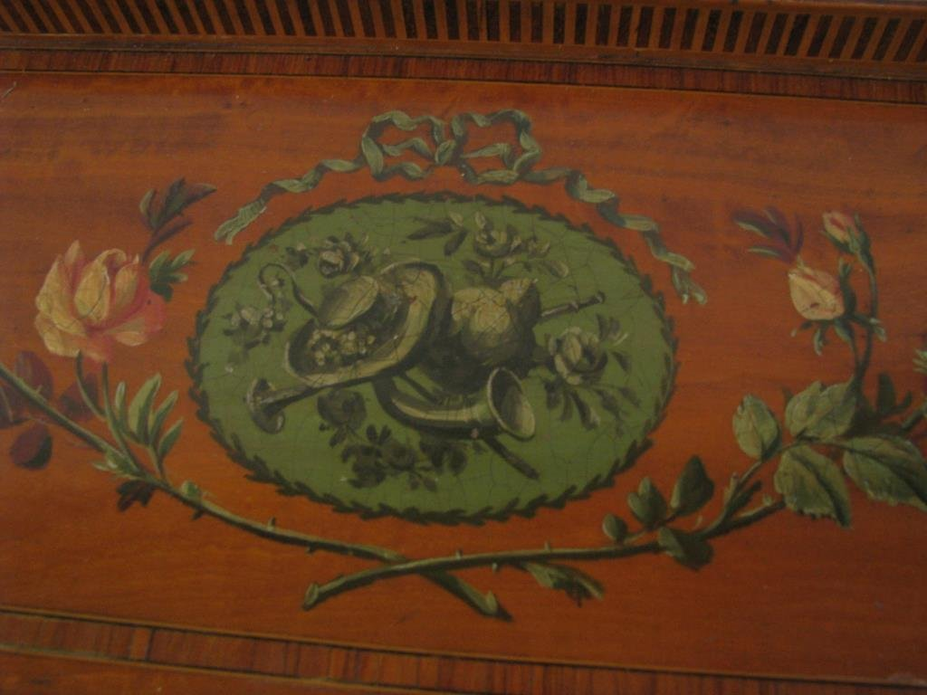 Maple & Co. Ornate Writing Desk - 5