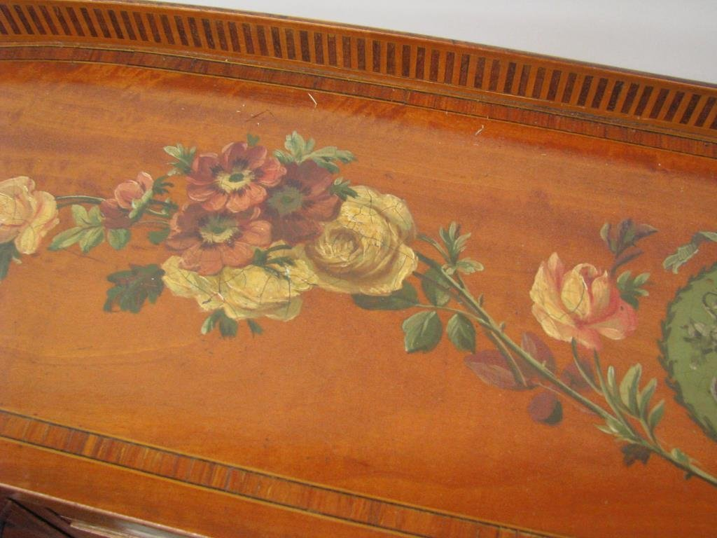 Maple & Co. Ornate Writing Desk - 6