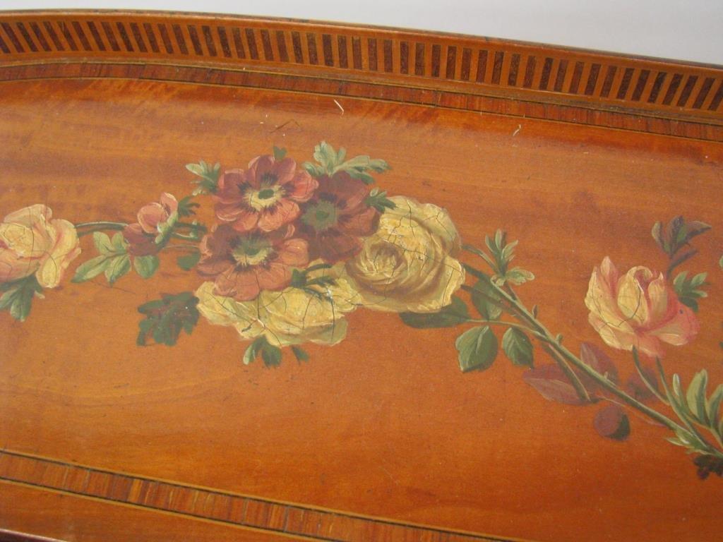 Maple & Co. Ornate Writing Desk - 7