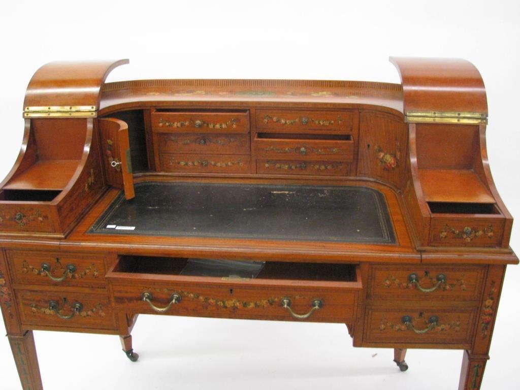 Maple & Co. Ornate Writing Desk - 9