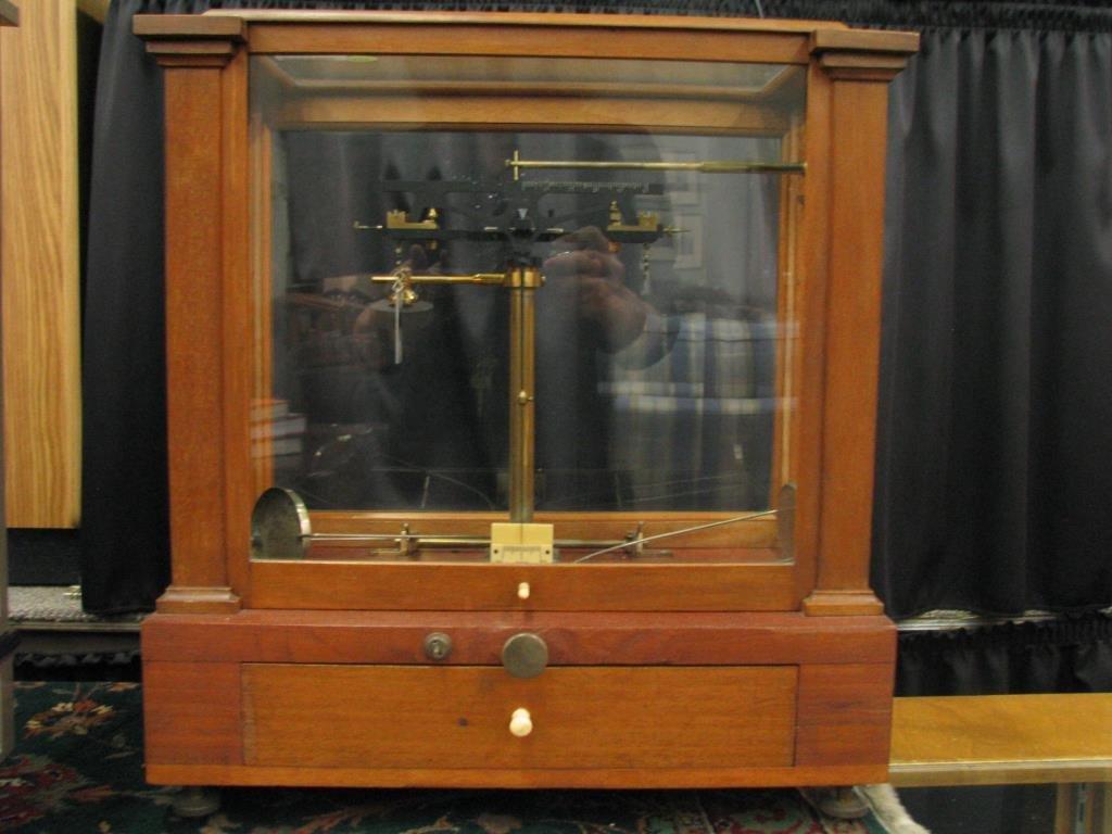 Antique Gold Balance Scale
