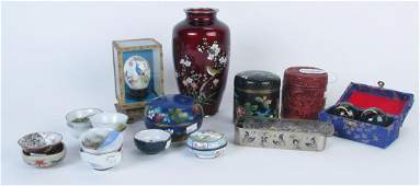 Group of Oriental Decorative Accessories