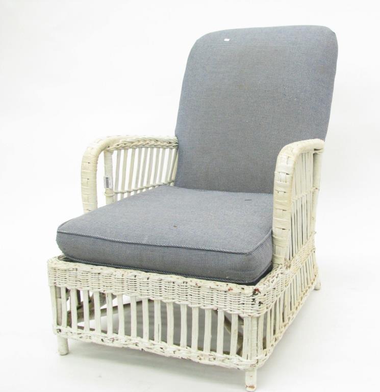 Karpen Antique Wicker Chair