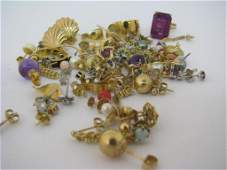 Large Group of Gold and Gold Filled Jewelry