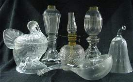 Group of Antique Pattern Glass