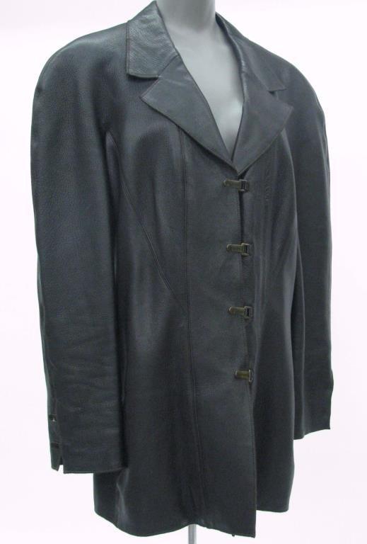 Chanel Black Leather Jacket