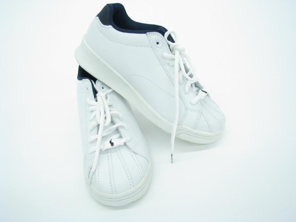 Polo by Ralph Lauren White Leather Tennis Shoes