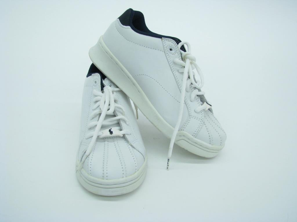 Polo by Ralph Lauren White Leather Tennis Shoes - 2