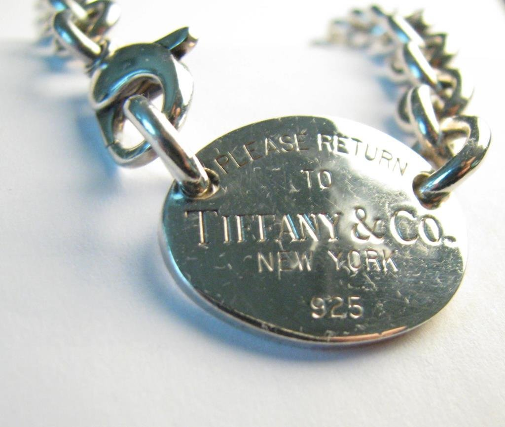 Sterling Tiffany & Co Return To Tiffany Necklace