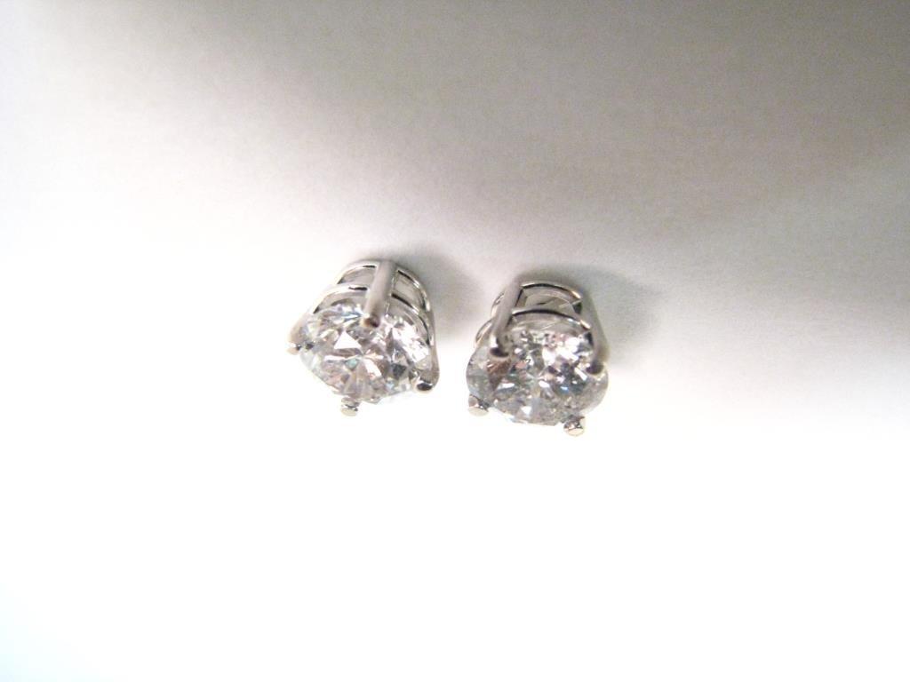 Pair of 1.7ct Diamond Stud Earrings