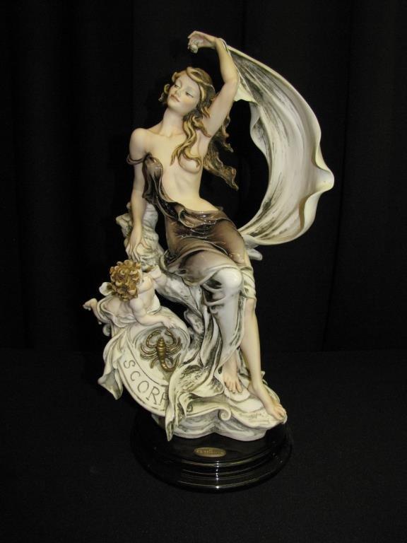 "G Armani Sculpture, Zodiac, ""Scorpio"""