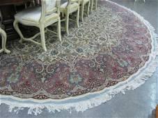 Room Size, Round Oriental Rug