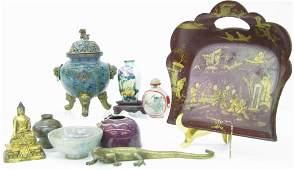 Group of Oriental Decor, Cloisonne