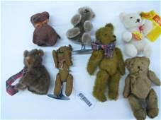 Group of Miniature Teddy Bears, Steiff