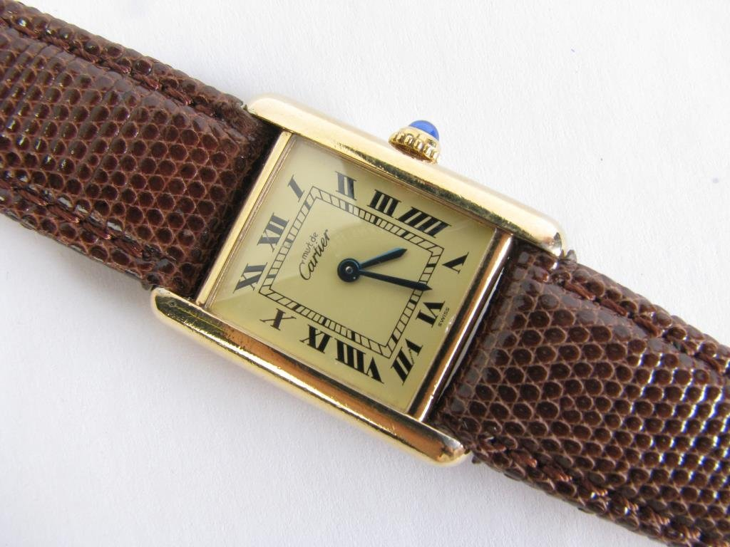 Lady's Cartier Le Must Watch