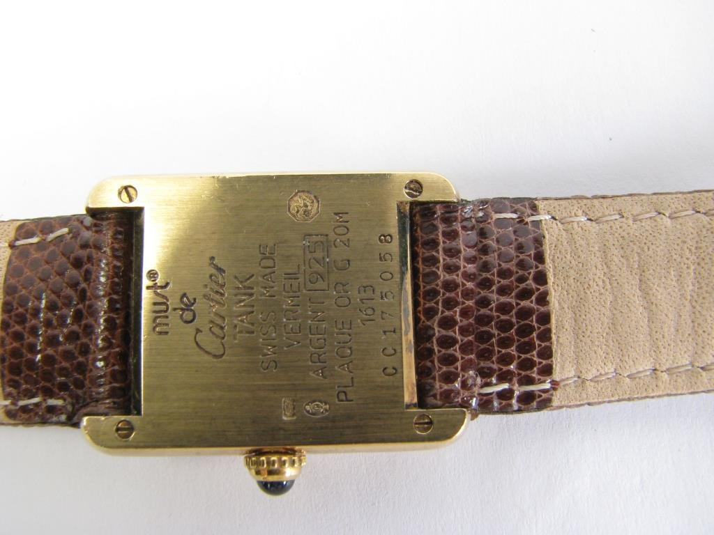 Lady's Cartier Le Must Watch - 4