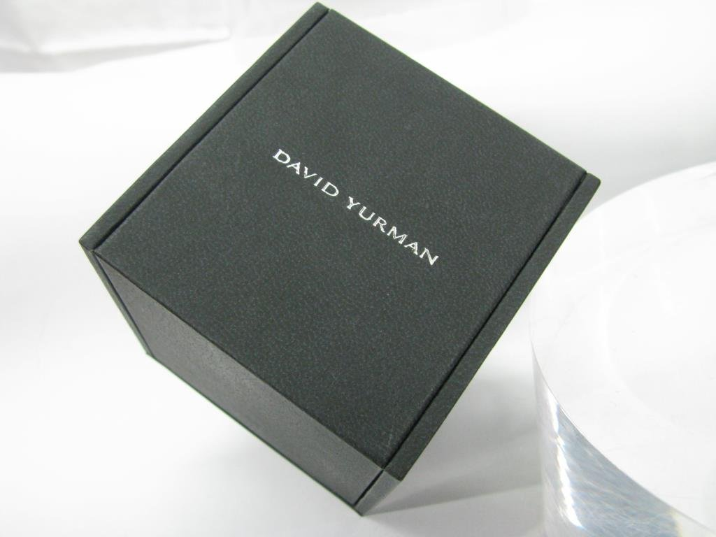 David Yurman 18K Quatrefoil Pave Diamond Ring - 6