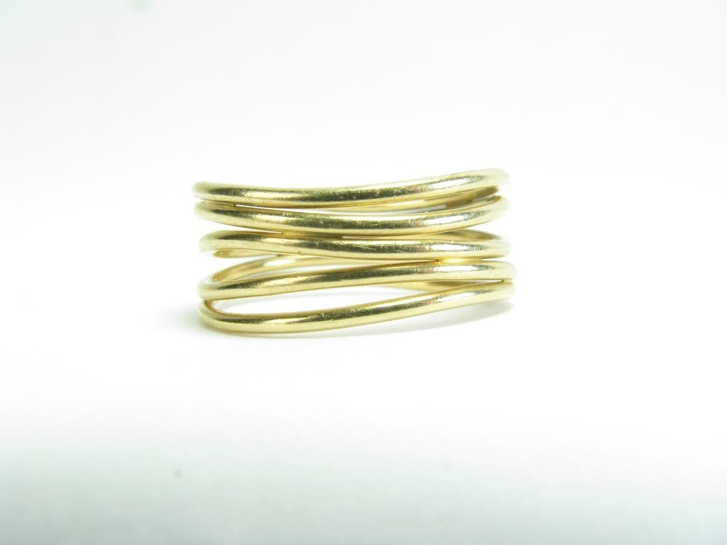 Tiffany & Co. 18K Yellow Gold Multi Band Ring - 2