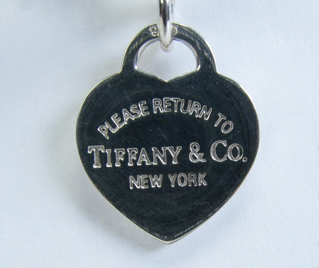 Tiffany & Co Sterling Heart Tag Toggle Necklace - 4