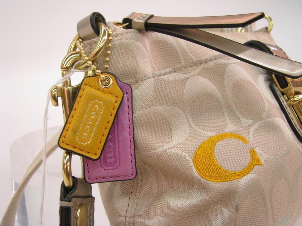 "Two Coach ""Poppy"" Collection Cross Body Purses - 9"