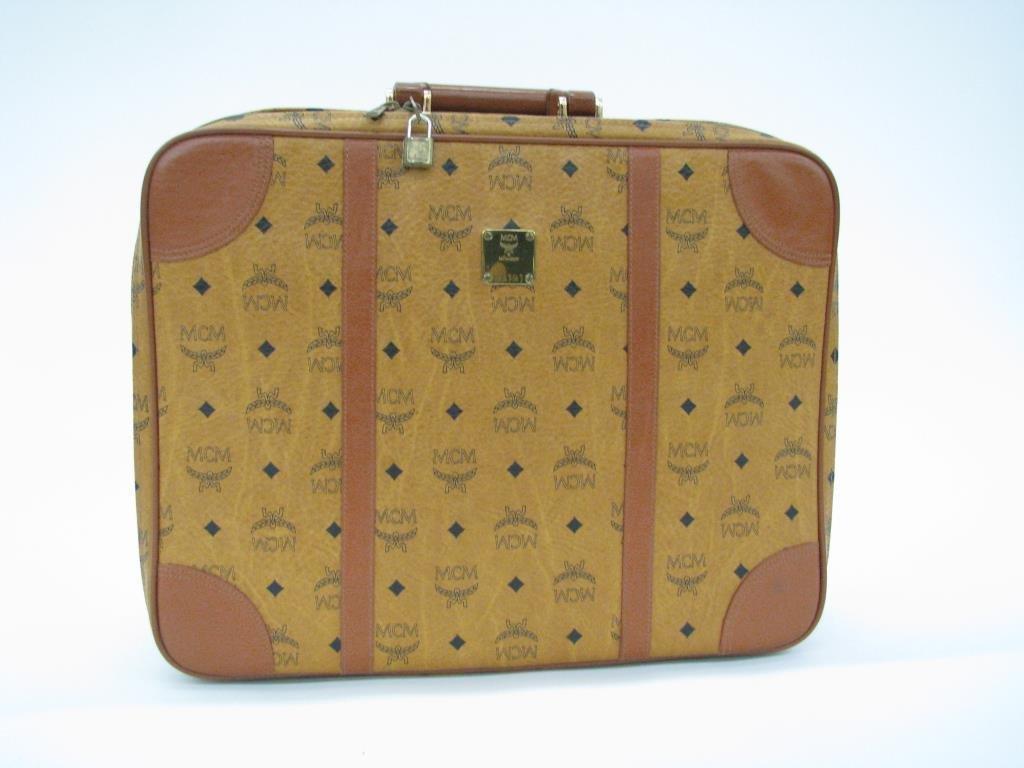 MCM Monogram Suitcase