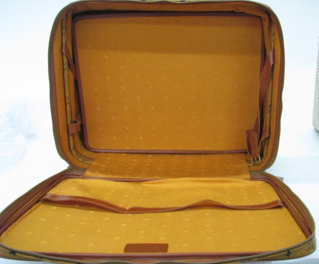 MCM Monogram Suitcase - 2
