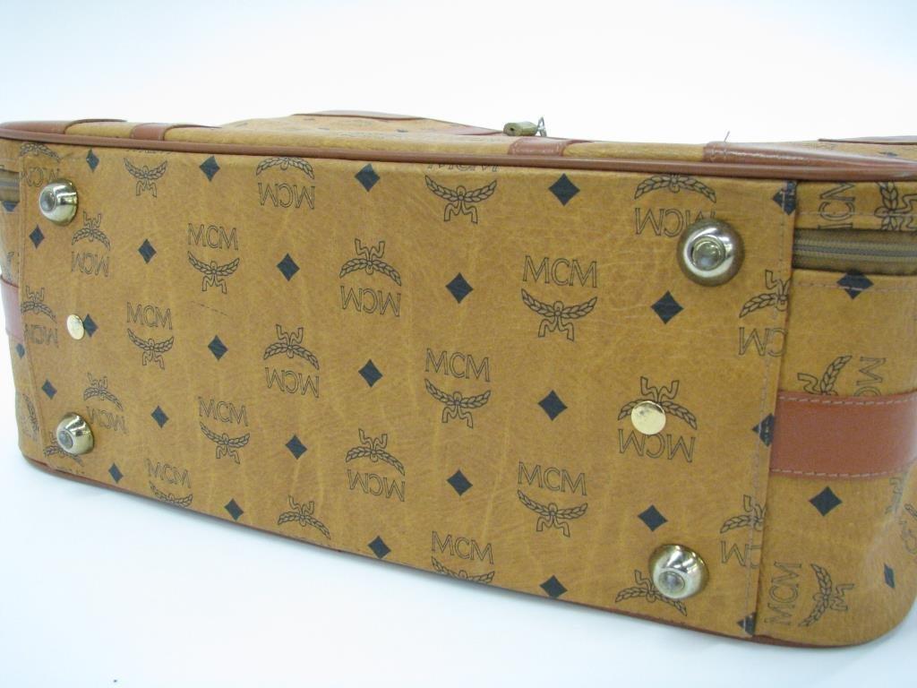 MCM Monogram Suitcase - 3