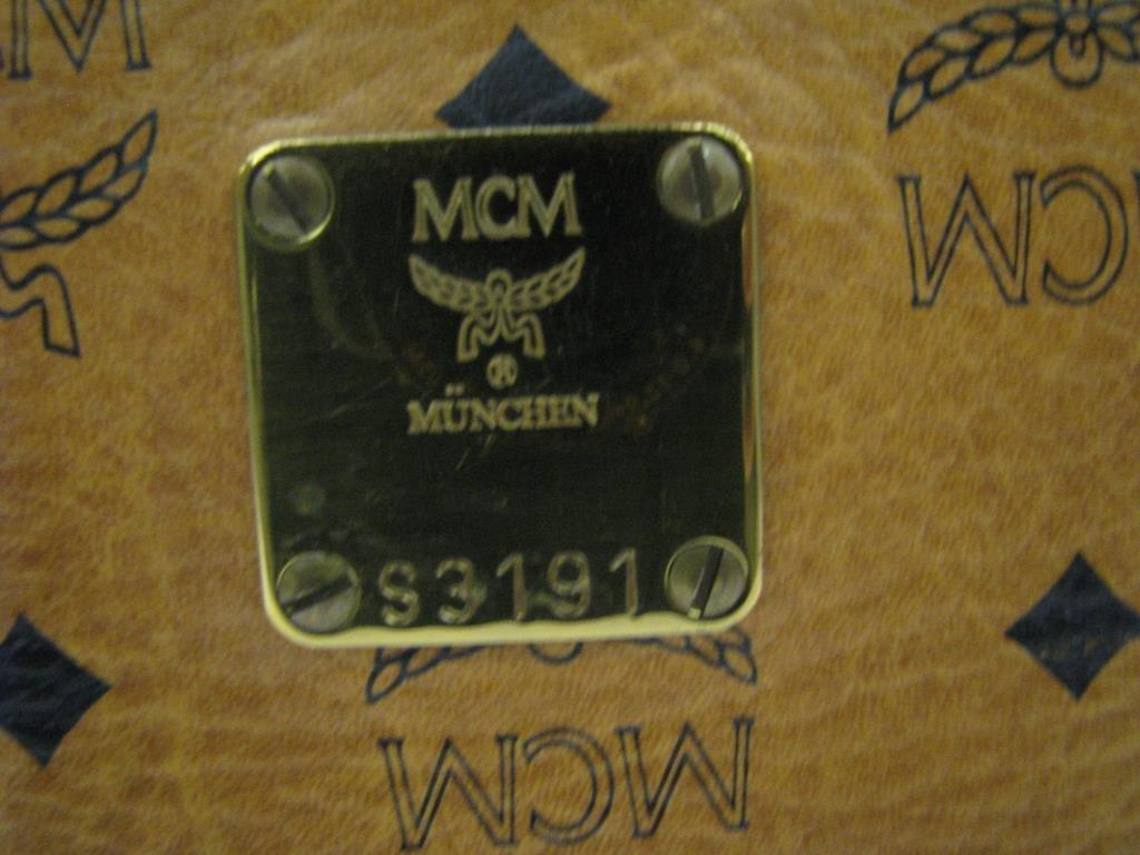 MCM Monogram Suitcase - 4