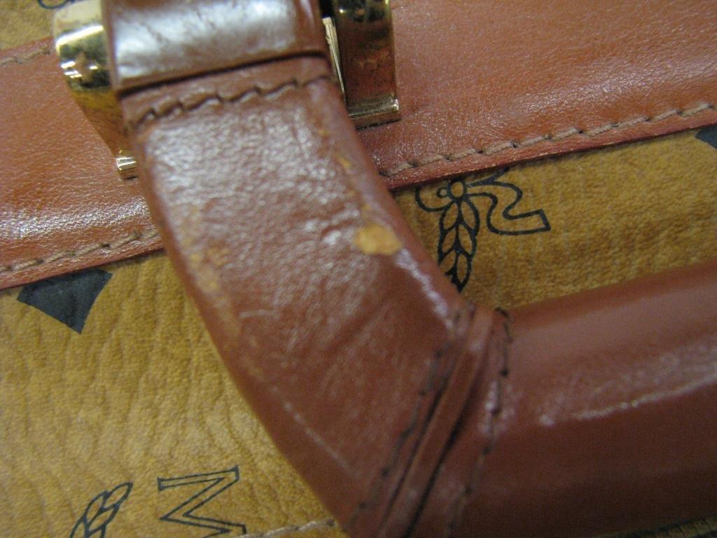 MCM Monogram Suitcase - 6