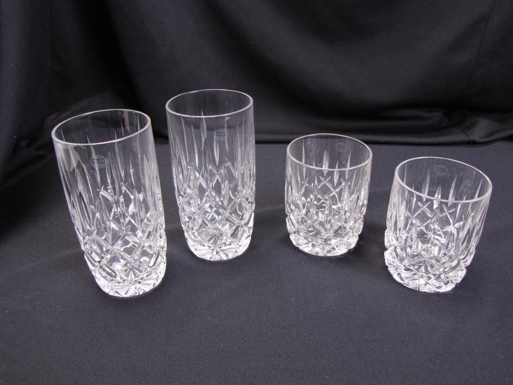 Set of Gorham 'Lady Anne' Lead Crystal Glasses