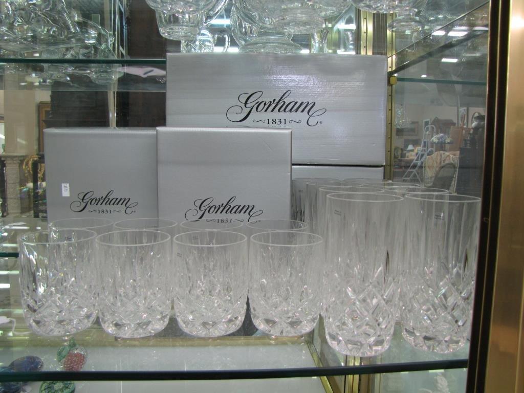 Set of Gorham 'Lady Anne' Lead Crystal Glasses - 2