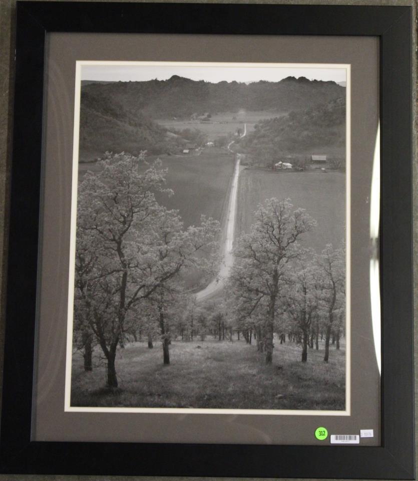 """Adams """"Road Towards Leesburg"""" Framed Print"""