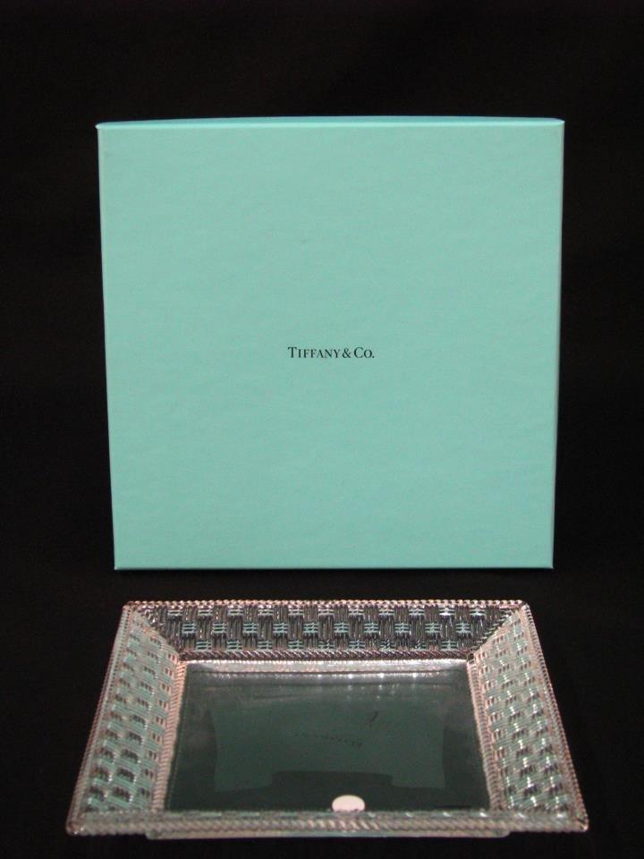 Tiffany Crystal Platter - 2