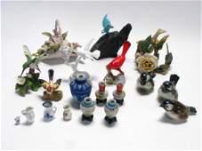 Group of Porcelain Decorative Accessories