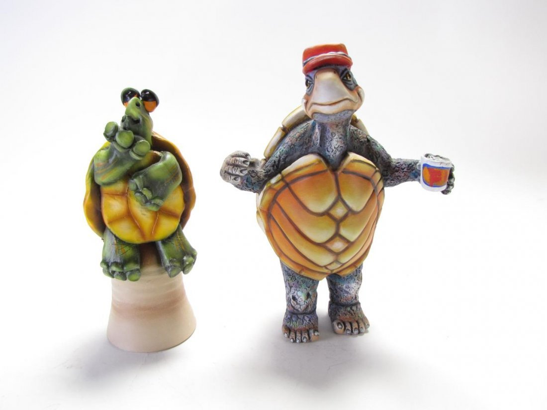 Carlos & Albert and Todd Warner animal Sculptures