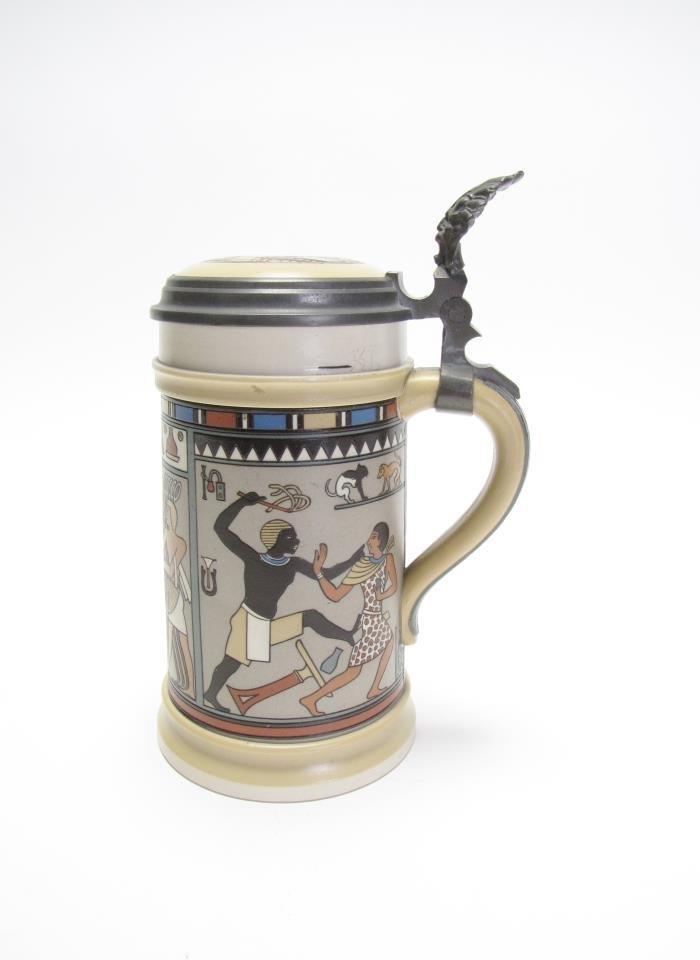 1/2 Liter Mettlach Stein