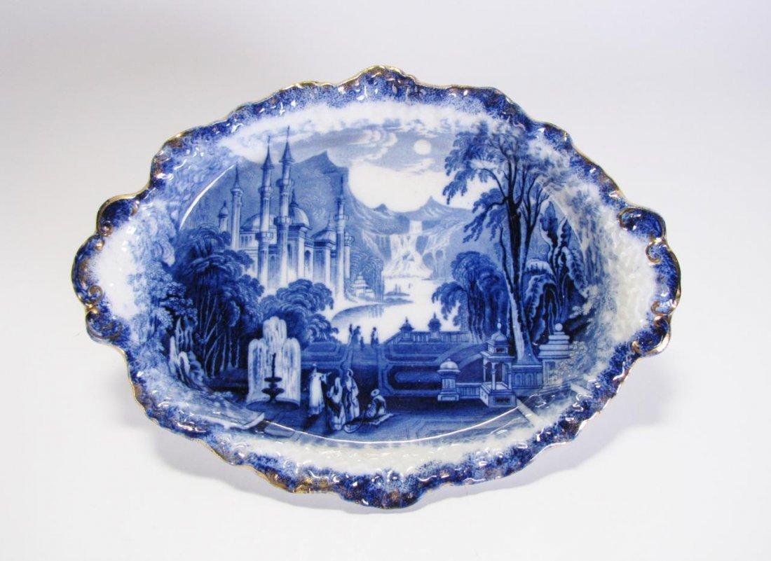 John Wedgewood Flow Blue Platter