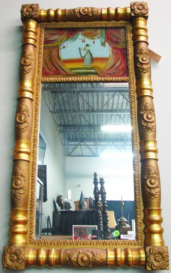 Vintage Trumeau Mirror
