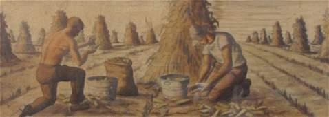 Edmund Brucker 11.5x35.25 WC Corn Husking