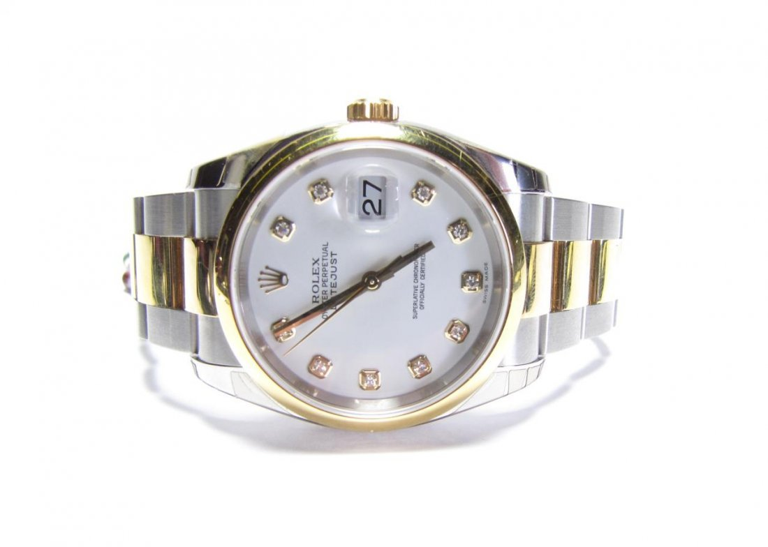 18K/SS Rolex Oyster Perpetual Datejust - NEW!