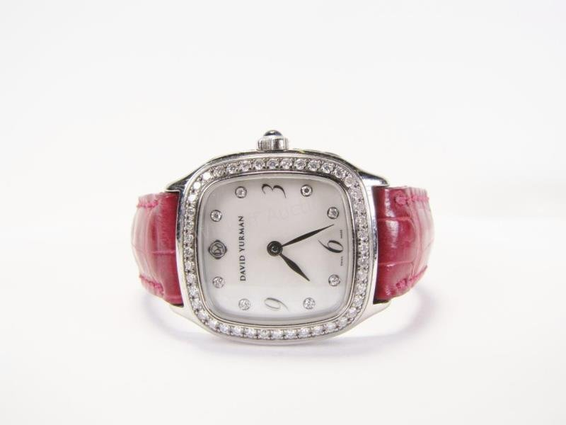 David Yurman Diamond Bezel Lady's Watch