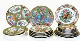 Group of Oriental Porcelain Plates and Bowls