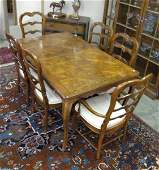 Country French Dining Room Group, by Hickory
