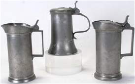 Group of Antique German Pewter