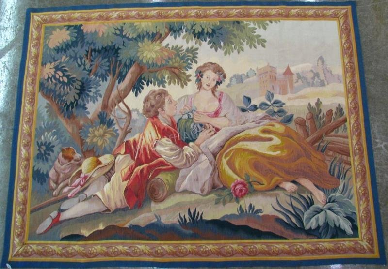 Antique Style Reproduction Tapestry