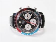 Vintage Gent's Heuer Autavia GMT Watch