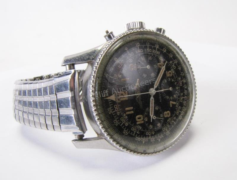 Vintage Gent's Breitling Navitimer Watch 806