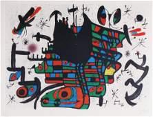 Joan Miro Lithograph Homenatge A Joan Prats
